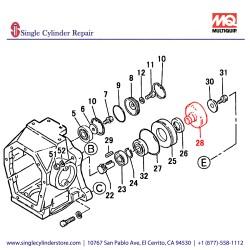 Multiquip   361449330   Clutch Drum Mt-74F