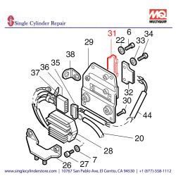 Multiquip 50373700 Plug Sleeve Housing