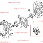 Multiquip 366348550 Clutch Assy MTX50, MTX60, MTX70, MTX80 and MTX90