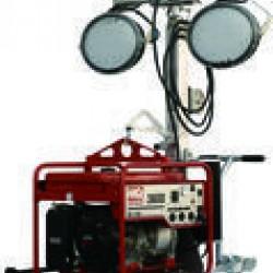 Multiquip GB43LED Light Balloon 4-Spot 300W LED 4-whl Cart