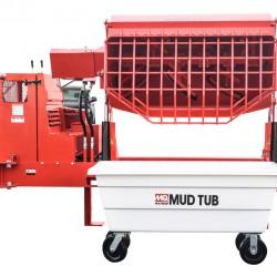 Multiquip MUDTUBW Mud Tub 10cf cap. with wheel