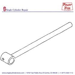 Power Trim Edger 303 Mandrel Arm