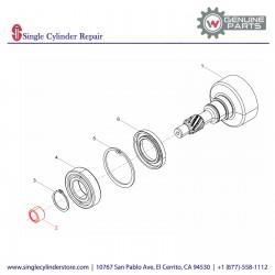Wacker 5000039020 Needle bearing