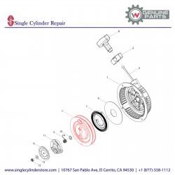 Wacker 5000048060 Starter pulley