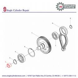 Wacker 5000072061 Needle bearing