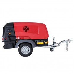 Chicago Pneumatic CPS 250 KD8 T4F + AFTERCOOLER & WS Protable Compressor, Kubota 2403 (8162010070)