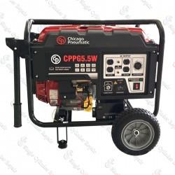 Chicago Pneumatic CPPG5.5W 2P 60Hz AVR EPA GFCI Generator (8170023022)