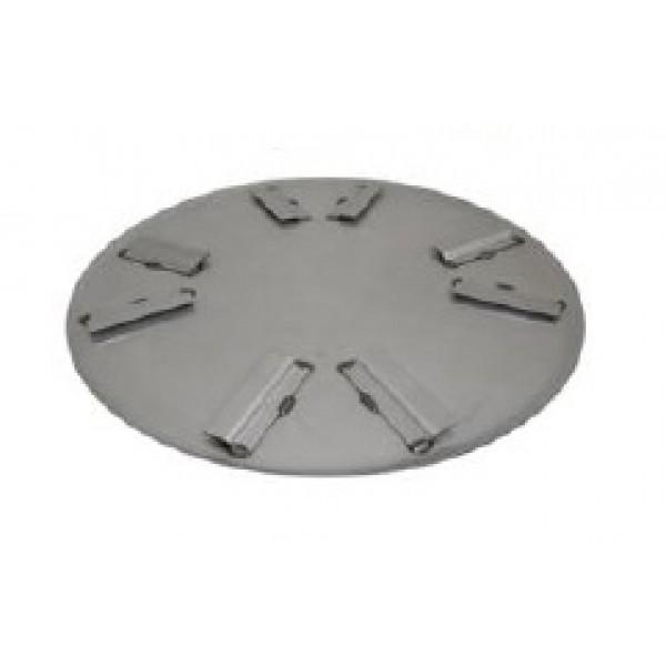 Wacker Pan Pallet, 48 Flat Float, 4-Blade, 10 Pc 5000156391